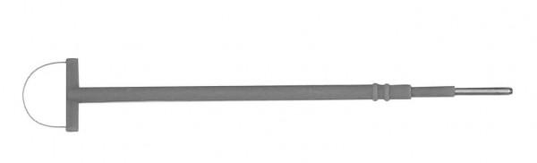 Schlingenelektrode 20x13mm, 14cm, DIA 2,4mm, 3 Stück