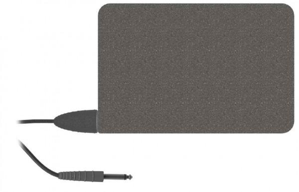 Neutralelektrode (Edelstahl), 12x16cm mit integriertem Anschlusskabel, 3m